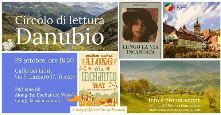 Asociația Italo-Română DANUBIO Trieste vă invită la un nou club de carte pentru și despre România